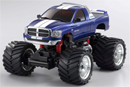 MINI-Z Monster DODGE RAM 1500 M.Blue L=170мм (Kyosho, 30086MB-B)