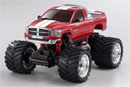 MINI-Z Monster DODGE RAM 1500 M.Red L=170мм (Kyosho, 30086MR-B)