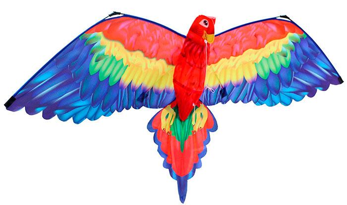 Воздушный змей Попугай Cora 3D