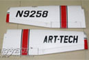 Art-Tech Cessna 182 500 Main wing set (5W021)