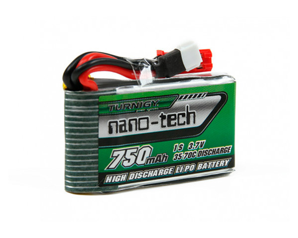 Аккумулятор Turnigy Li-Po 3.7V 750mAh 1S 35-70C nano-tech (A plug)