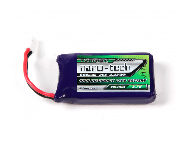 Аккумулятор Turnigy Lipo 3.7V 600mAh 1S 25C Nano-Tech (Walkera)
