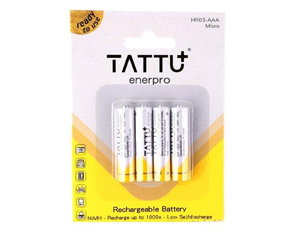 Аккумулятор Tattu AAA 4шт NiMH 1,2 В 800 мАч (TA-800-1.2V-NiMH-LS3A)