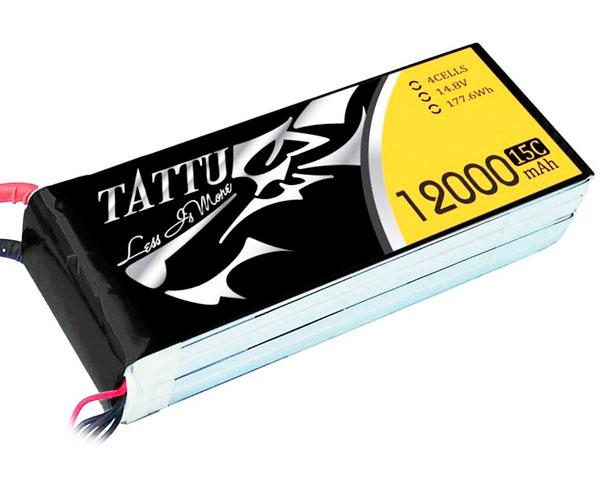 Аккумулятор Tattu LiPO 14,8 В 12000 мАч 4S 15C