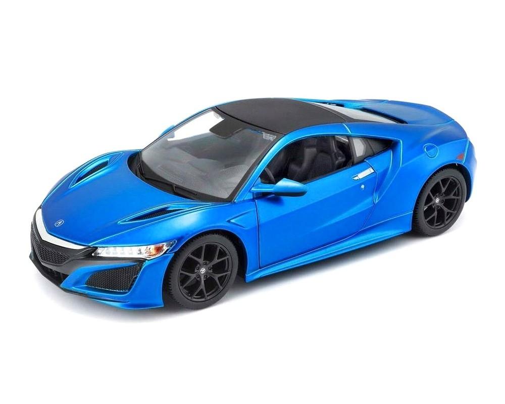 Коллекционный автомобиль Maisto Acura NSX 1:24 синий металлик