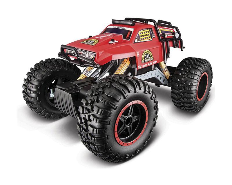 Автомобиль на радиоуправлении Maisto Rock Crawler 3XL (красный)