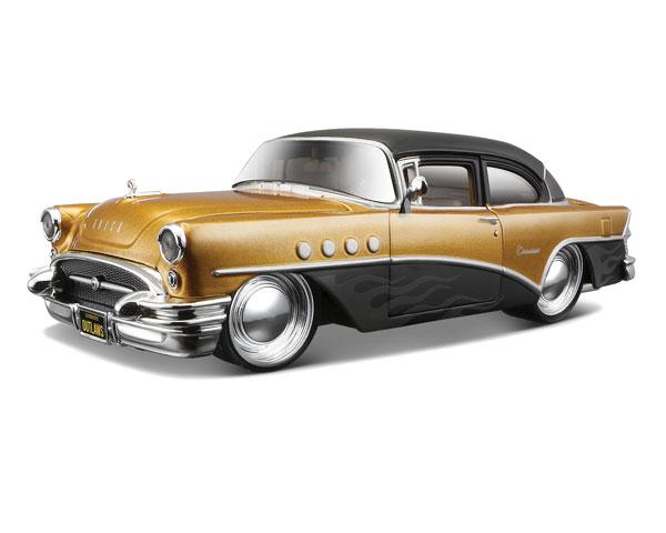 Коллекционный автомобиль Maisto Buick Century тюнинг 1:26 (золотистый)