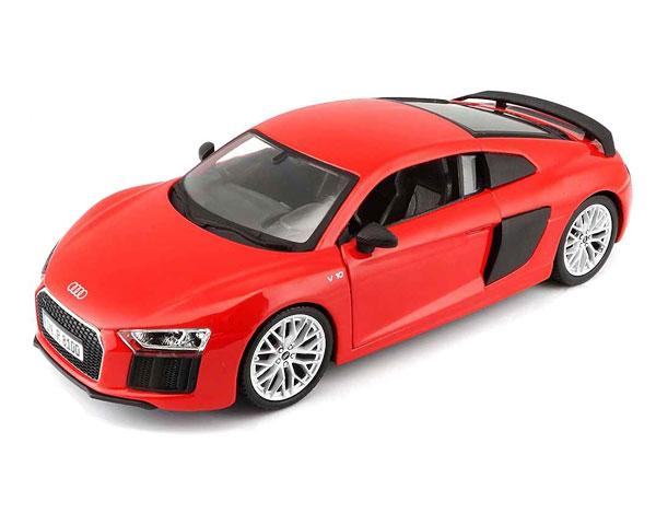 Коллекционный автомобиль Maisto Audi R8 V10 Plus 1:24 (красный)