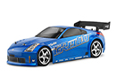 Кузов 1/10 EU NISSAN 350OZ GREDDY TWIN TURBO BODY (200мм). Декали, наклейки и маски (HPI Racing, HPI17518)