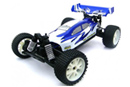 BSD Racing Brushless Buggy 4WD 1:10 2.4Ghz EP (BS701G-R Blue)