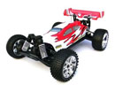 BSD Racing EP Brushed Buggy 4WD 1/10 2,4Ghz RTR Version (BS701G Red)