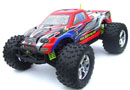 BSD Racing EP Brushed Monster Truck 4WD 1/10 2,4Ghz RTR Version (BS706T Red)