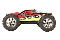 BSD Racing Nitro Monster Truck 4WD 1:8 2.4GHz RTR Version (BS801T Red)