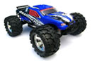 BSD Racing Nitro Monster Truck 4WD 1:8 2.4Ghz Blue (BS801T Blue)