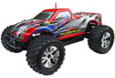 BSD Racing EP Brushless Monster Truck 4WD 1/10 2,4GHz RTR Version (BS909T Blue)