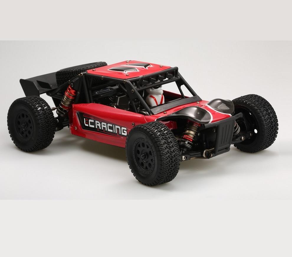 Багги LC Racing DTH песчаная бесколлекторная 1:14 (красная)