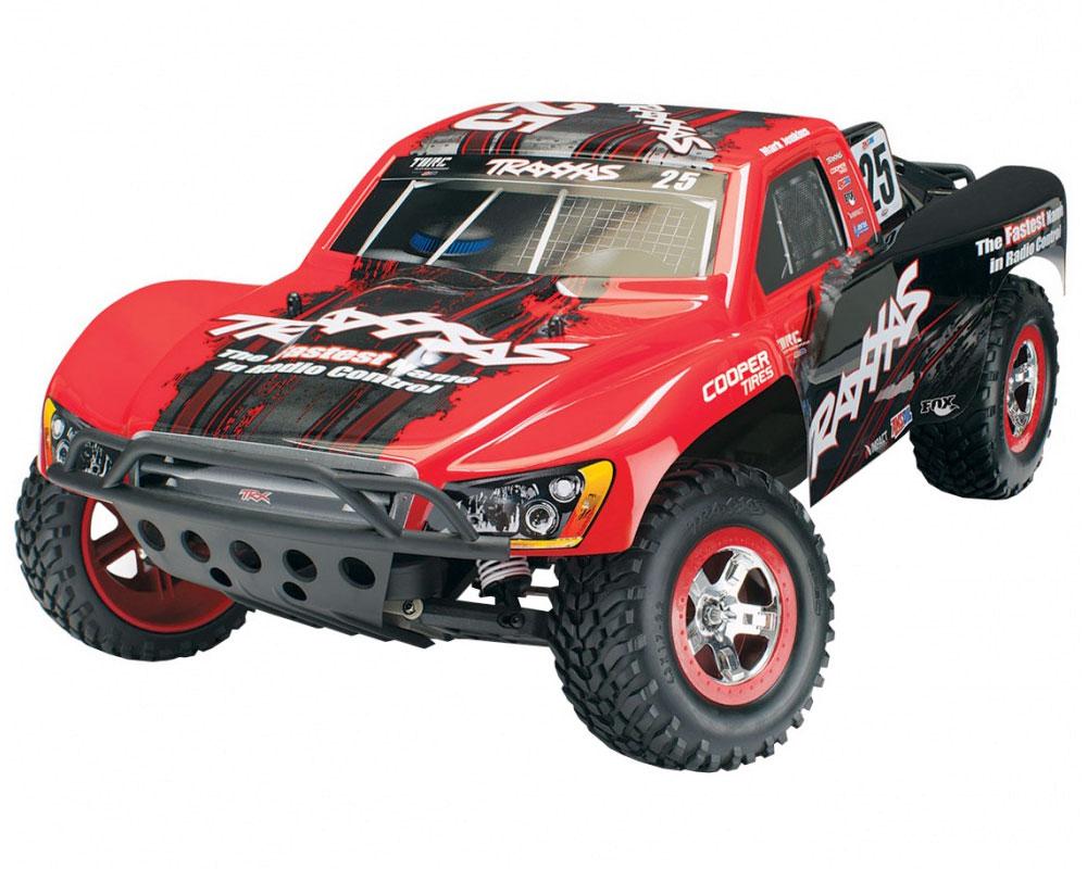 Автомобиль Traxxas Slash VXL LCG 1:10 RTR 568 мм 2WD TSM OBA 2,4 ГГц (58076-21 Red)