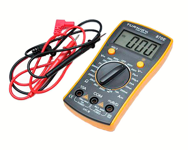Цифровой мультиметр Turnigy 870E с подсветкой дисплея