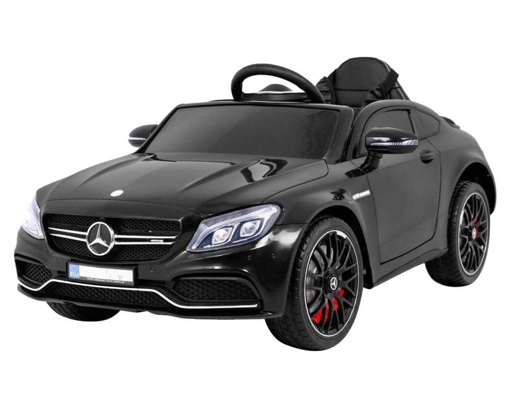 Детский электромобиль Kidsauto Mercedes-Benz C63 S AMG Черный лак
