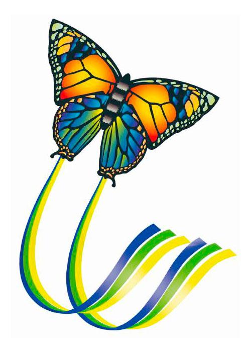 Детский воздушный змей Бабочка