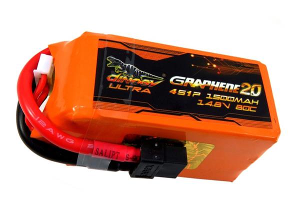 Аккумулятор Dinogy ULTRA G2.0 Li-Pol 1500mAh 14.8V 4S 80C XT60