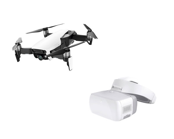 Квадрокоптер DJI Mavic Air (Arctic White) + очки DJI Goggles
