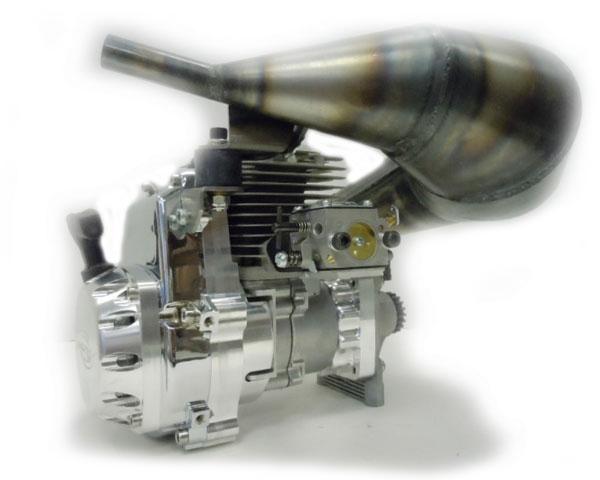 Двигатель ДВС Skopod 62cc + Pipe Combo for Losi 5ive