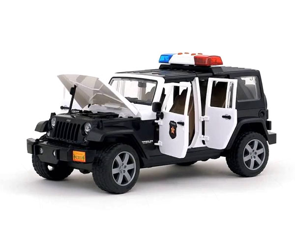 Автомодель Bruder Wrangler Unlimited Rubicon 1:16 (полиция)