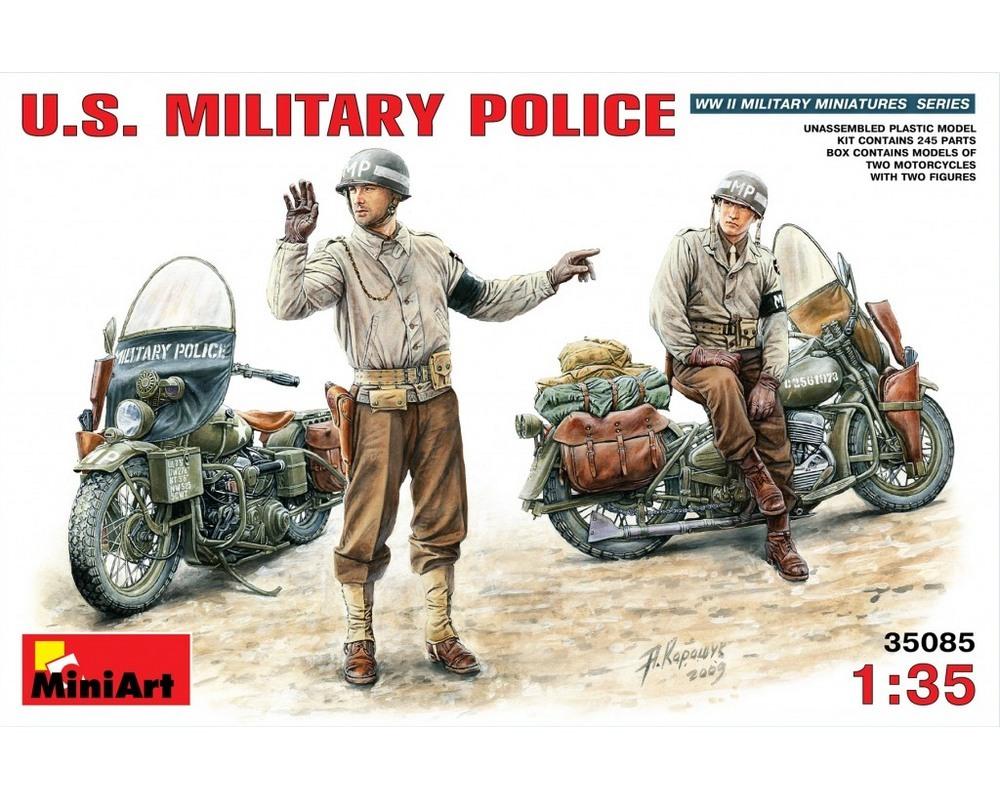 Сборные фигурки MiniArt Американская военная полиция 1:35 (MA35085)