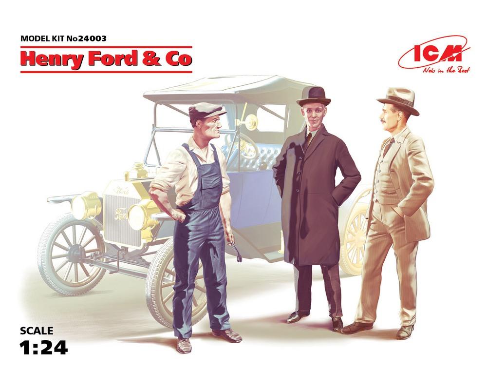 Сборные фигурки ICM Генри Форда и Ко 1:24 (ICM24003)