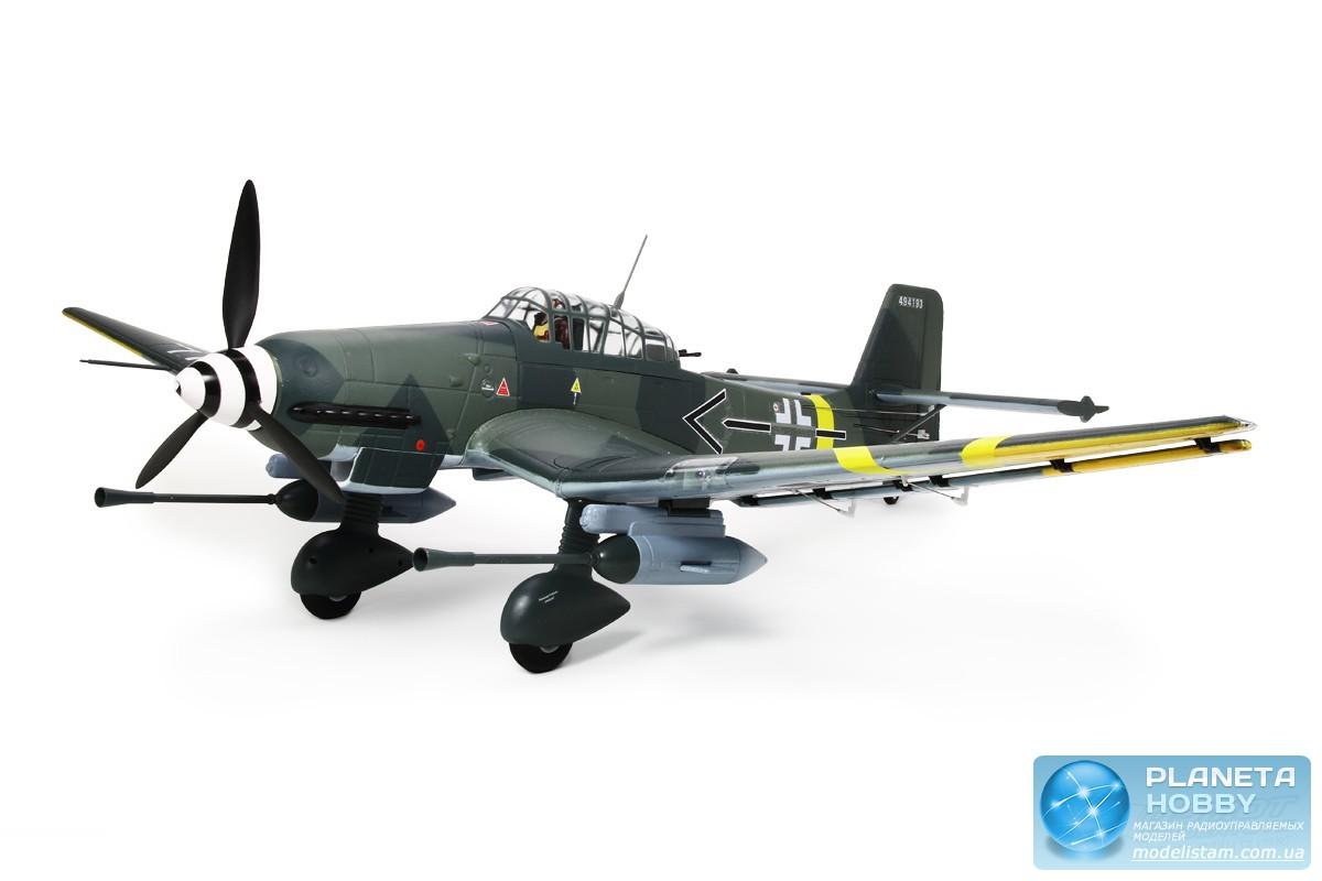 Самолет FMS Stuka Junkers JU 87 G-2 PNP (1420mm) (FMS029)