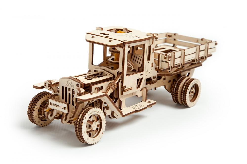 Конструктор Ukrainian Gears «Грузовик UGM-11», деревянный