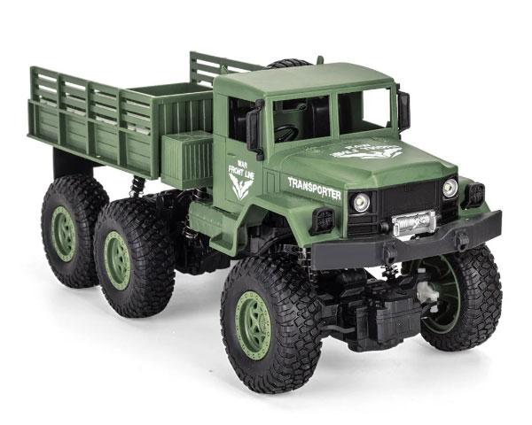 Военный грузовик JJRC Q69 (зеленый) 1/18