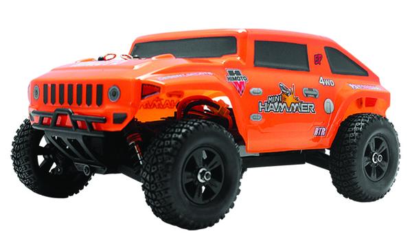 Хаммер Himoto Mini Hummer E18HM 1:18 оранжевый
