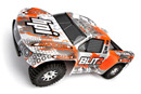 HPI Blitz Scorpion 2WD 1:10 EP 2.4GHz Silver/Orange RTR (HPI105833 Silver/Orange)