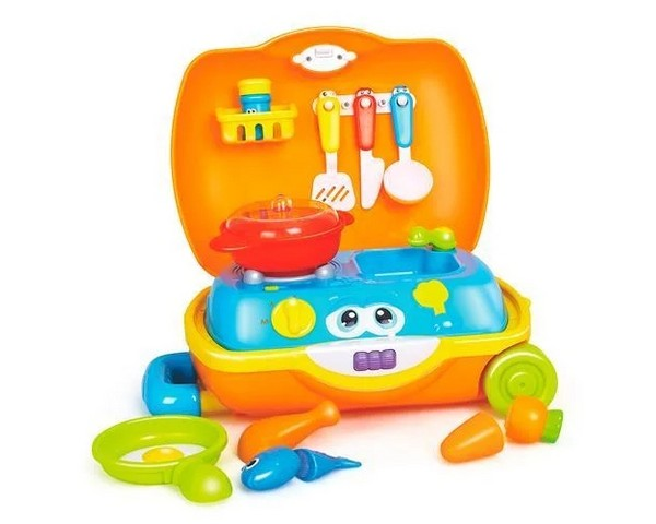 Игровой набор Hola Toys Чемоданчик повара (3108)