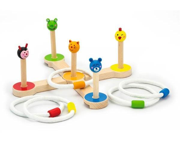 Игровой набор Viga Toys Бросание кольца (50174)