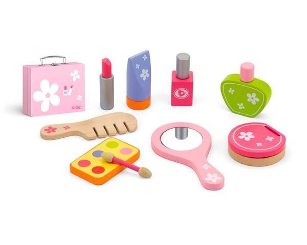 Деревянный игровой набор Viga Toys Все для макияжа (50531)