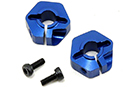Колесные адаптеры 12mm Hex Aluminum Front Clamping (2) для Associated RC10 B4.1 (Jconcepts, JCI2135)
