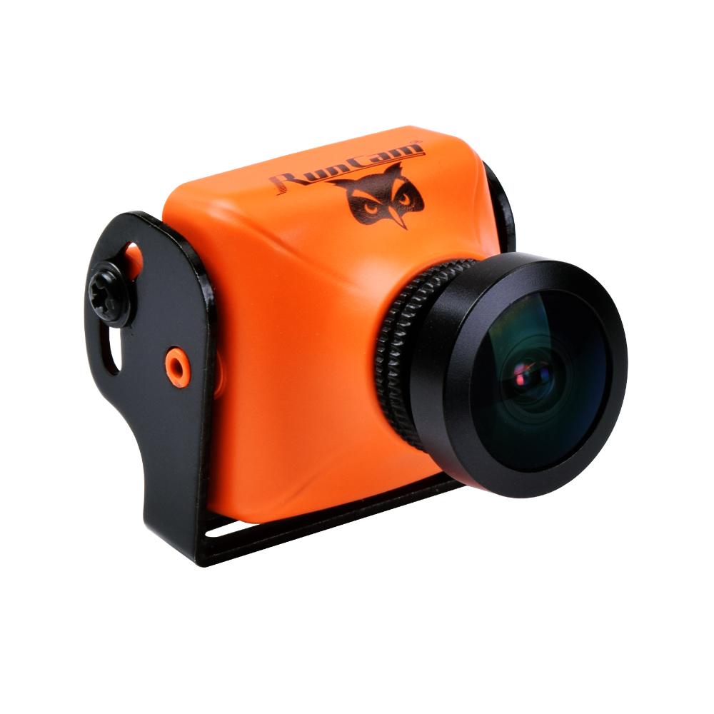 Камера RunCam OWL PLUS FPV 700TVL 150° 5-22V курсовая (оранжевая)
