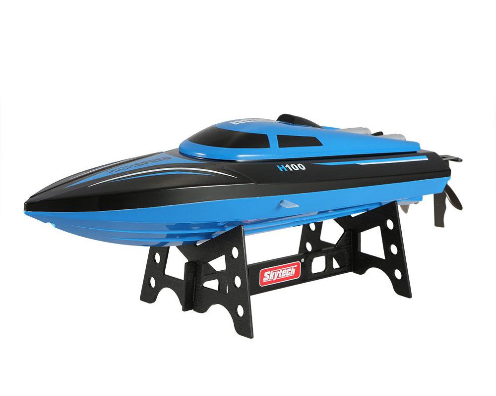 Катер Skytech H100 до 20км/год, 35см (синій)