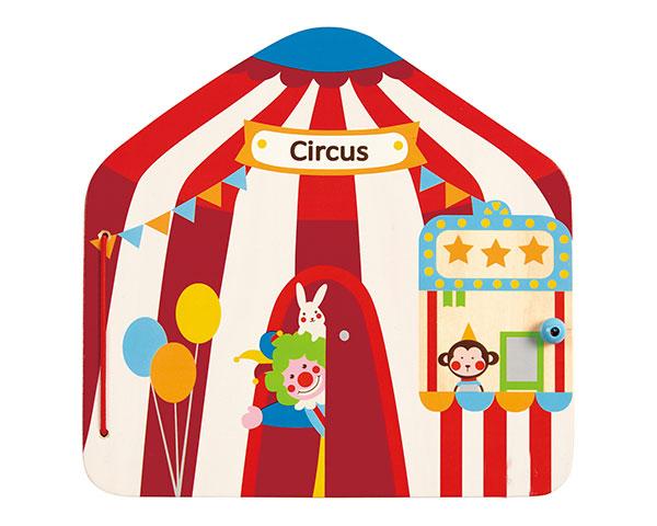 Книга с магнитами - Цирк