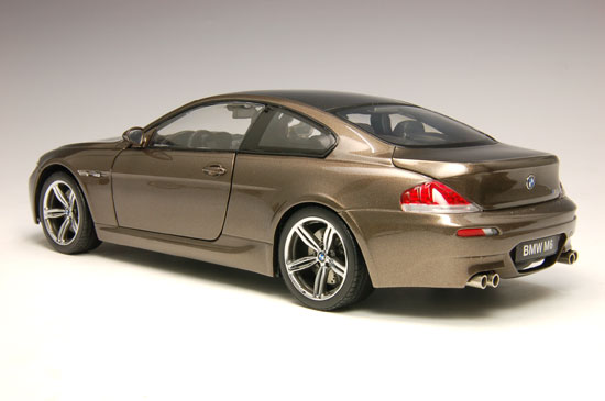 1:18 BMW M6 COUPE BRONZE (Kyosho Die-Cast, DC08703BZ)