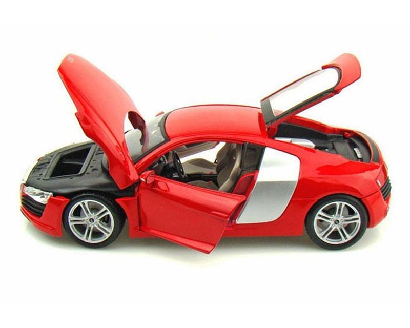 Коллекционная автомодель Maisto Audi R8 (красная)