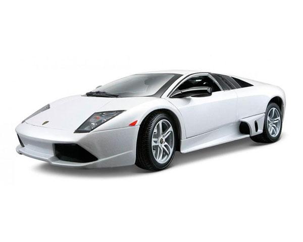 Коллекционный автомобиль Maisto Lamborghini Murcielago LP640 1:18, белый