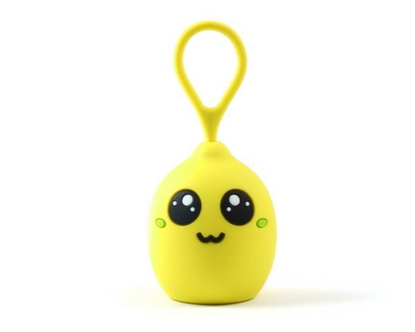 Колонка детская Click Децибелка портативная 3Вт Лимон