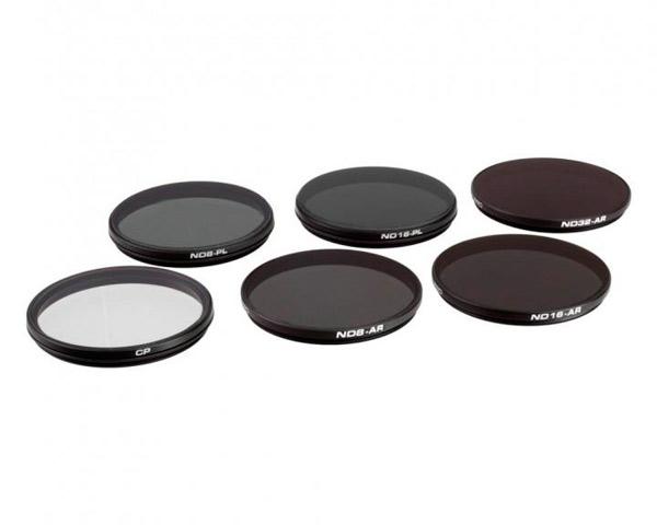 Комплект фильтров PolarPro для DJI Zenmuse X5/X5R/X5S (6 шт.)