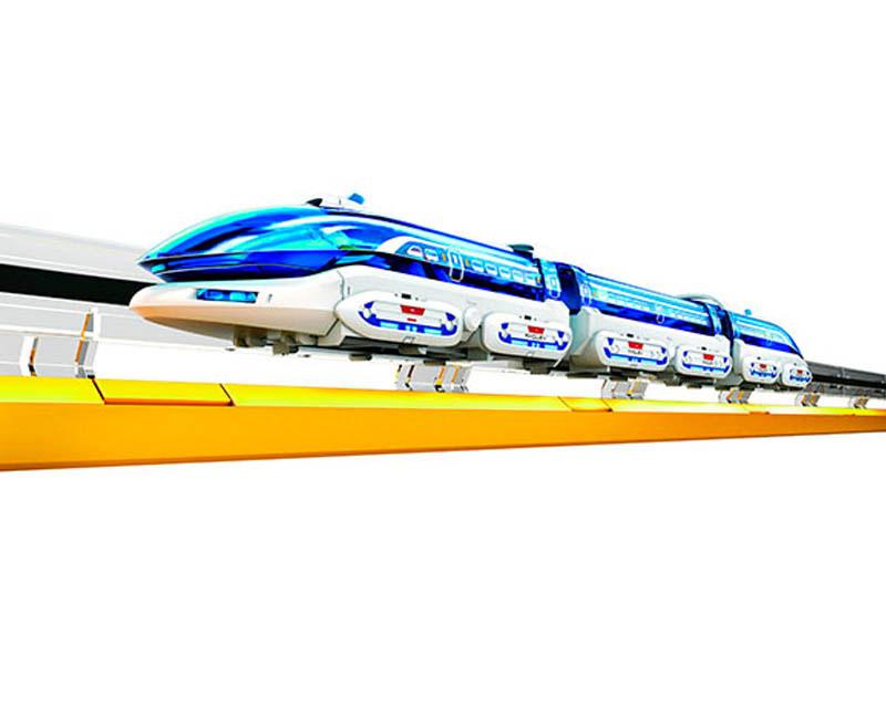 Конструктор CIC 21-633 поезд на магнитной подушке (155 деталей)
