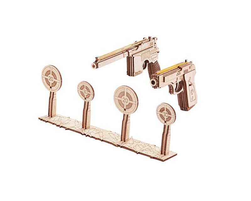 Конструктор деревянный Wood Trick