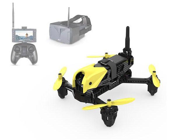 Гоночный квадрокоптер Hubsan H122D X4 Storm с монитором и шлемом FPV